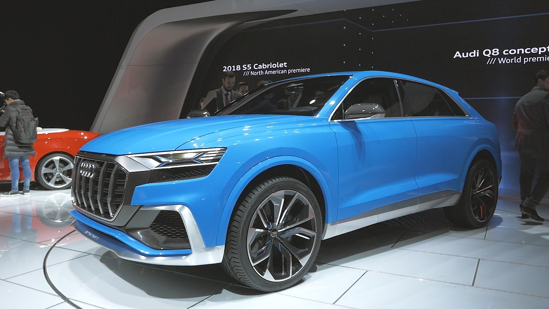 El nuevo Q4 de Audi llegará en 2019 y vendrá con toda la tecnología, diseño y potencia para competir con sus fuertes rivales en el segmento SUV de los compactos.