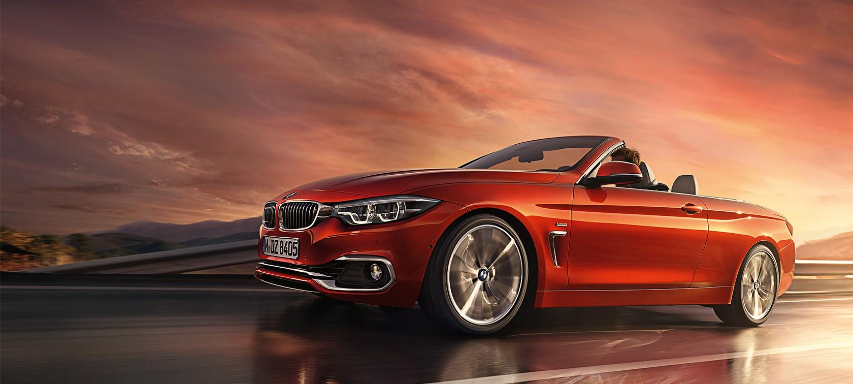Firme, dinámico y deportivo, el nuevo BMW Serie 4 Cabrio equilibra la elegancia con la filosofía de renovación de la marca, disfrutando del aire fresco ambiental.