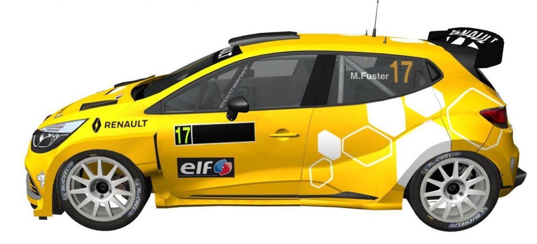 El Clio N5 de Renault Sport España preparado por RMC y pilotado por Fuster, serán uno de los equipos animadores del certamen que estará en los puestos de cabeza.