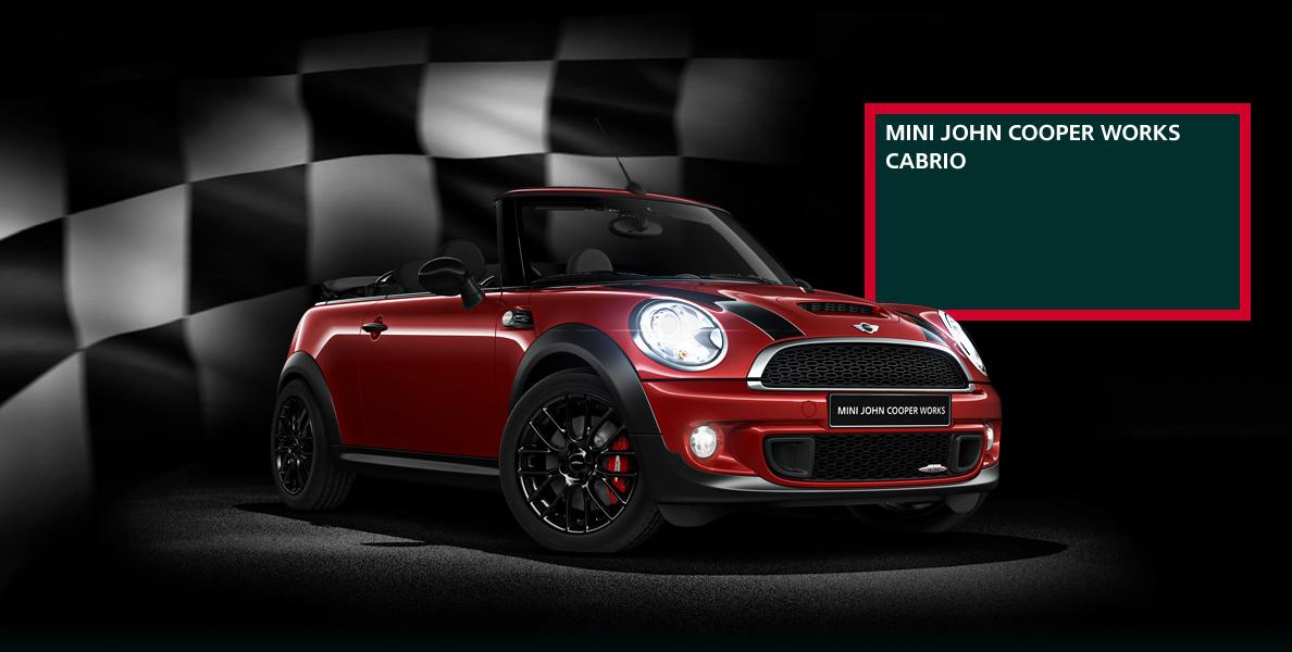 Deportivo, radical, cómodo y fácil de conducir, así es el Mini JCW Cabrio el potente sin techo.