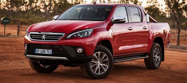 Peugeot puede entrar en el segmento de las Pick-Up con la alianza de Toyota.
