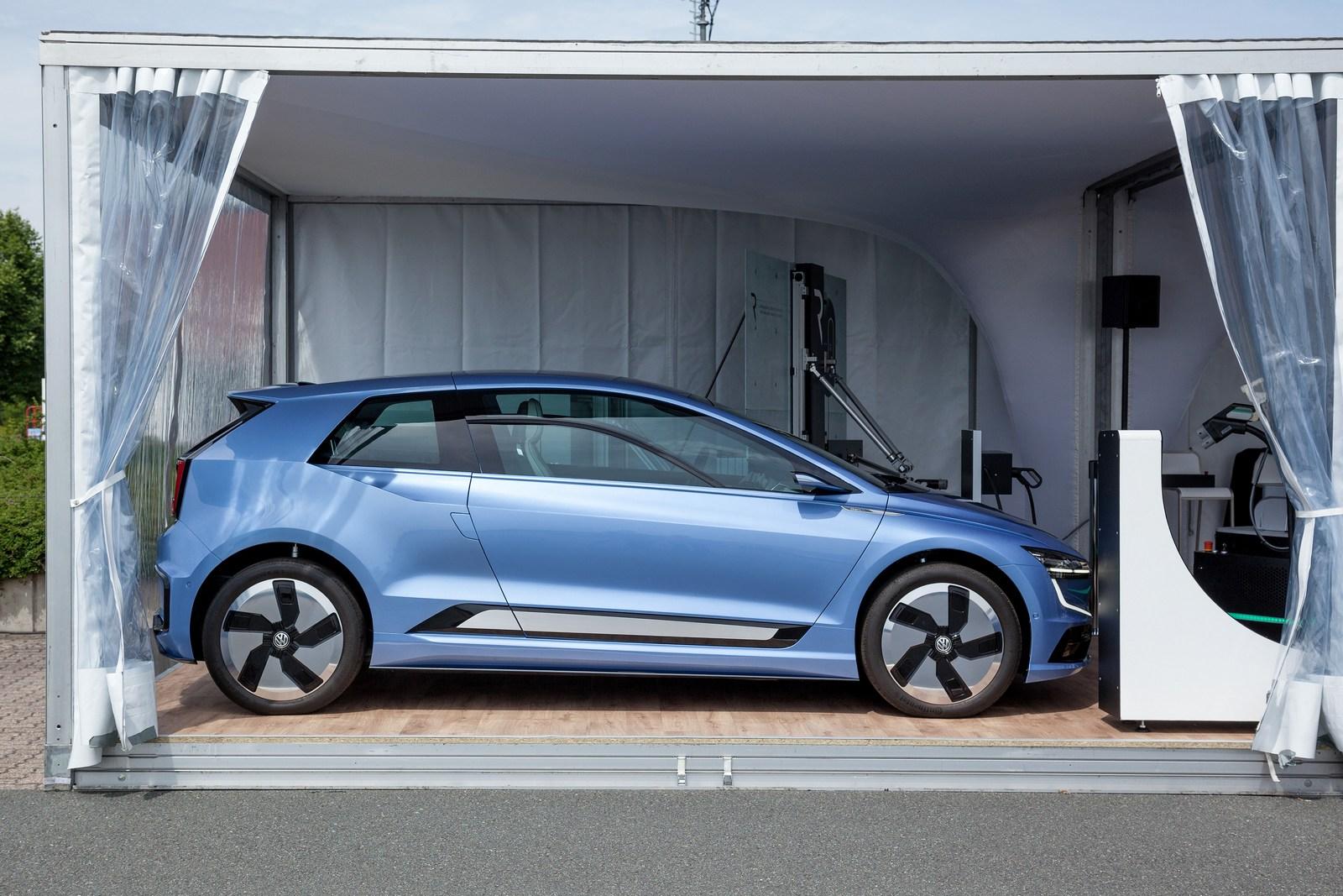 La octava generación del Golf tiene un exponente eléctrico mas en el Gen-E Concept